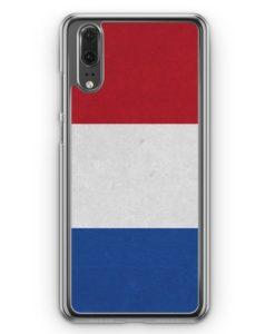 Huawei P20 Hülle Hardcase - Holland Niederlande Flagge