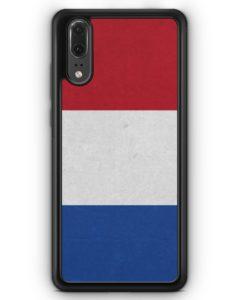 Huawei P20 Hülle Silikon - Holland Niederlande Flagge