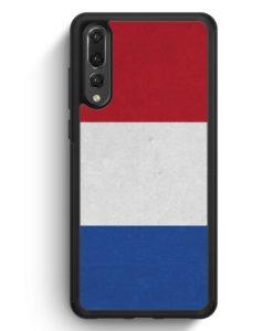 Huawei P20 Pro Hülle Silikon - Holland Niederlande Flagge