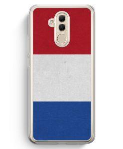 Huawei Mate 20 Lite Hardcase Hülle - Holland Niederlande Flagge