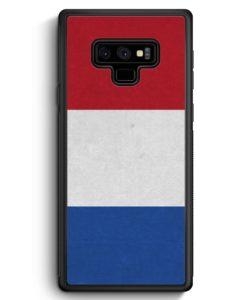 Samsung Galaxy Note 9 Hülle Silikon - Holland Niederlande Flagge