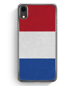 iPhone XR Hardcase Hülle - Holland Niederlande Flagge