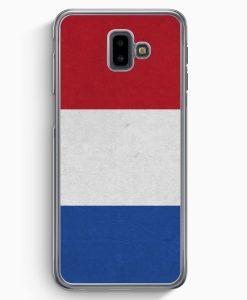 Samsung Galaxy J6+ Plus (2018) Hardcase Hülle - Holland Niederlande Flagge