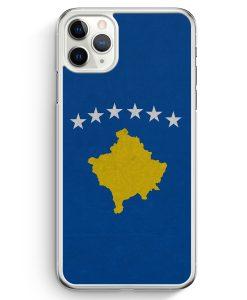 iPhone 11 Pro Hardcase Hülle - Kosovo Flagge