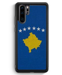 Huawei P30 Pro Silikon Hülle - Kosovo Flagge