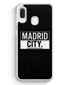 Samsung Galaxy A20e Hardcase Hülle - Madrid CITY