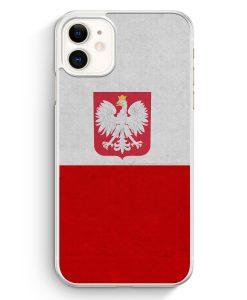 iPhone 11 Hardcase Hülle - Polen Polska Poland Flagge