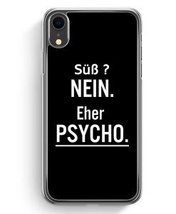 iPhone XR Hardcase Hülle - Süß ? Ne Eher Psycho