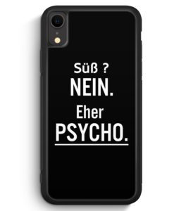 iPhone XR Silikon Hülle - Süß ? Ne Eher Psycho