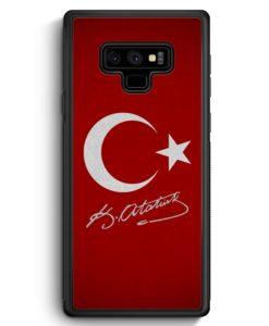Samsung Galaxy Note 9 Hülle Silikon - Türkei + Atatürk