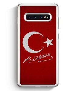 Samsung Galaxy S10+ Plus Hardcase Hülle - Türkei + Atatürk