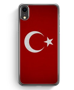 iPhone XR Hardcase Hülle - Türkiye Turkey Türkei Neu Flagge