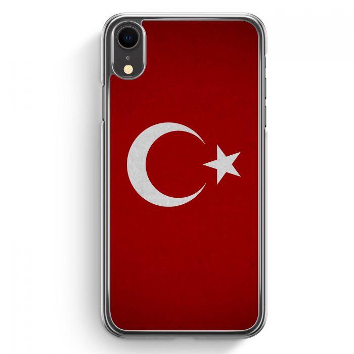 iPhone XR Hardcase Hülle - Türkiye Turkey Türkei Neu Flagge