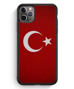 iPhone 11 Pro Silikon Hülle - Türkiye Turkey Türkei Neu Flagge