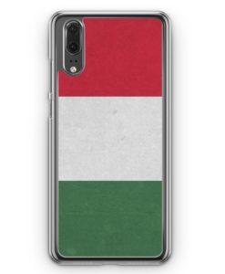 Huawei P20 Hülle Hardcase - Ungarn Flagge