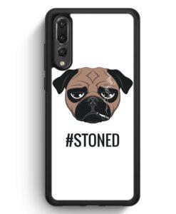 Huawei P20 Pro Hülle Silikon - #Stoned Mops