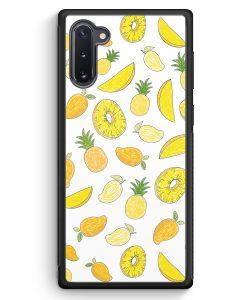 Samsung Galaxy Note 10 Silikon Hülle - Ananas Birne Muster Tropisch