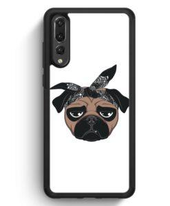 Huawei P20 Pro Hülle Silikon - Hiphop Mops