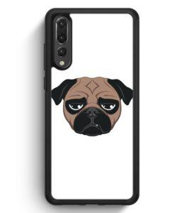 Huawei P20 Pro Hülle Silikon - Mops Hund