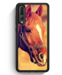 Huawei P20 Pro Hülle Silikon - Pferd Foto