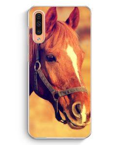 Samsung Galaxy A50 Hardcase Hülle - Pferd Foto