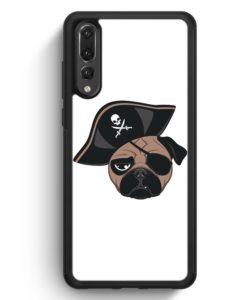 Huawei P20 Pro Hülle Silikon - Pirat Mops