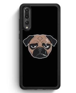 Huawei P20 Pro Hülle Silikon - Smoking Mops