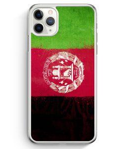 iPhone 11 Pro Hardcase Hülle - Afghanistan Grunge