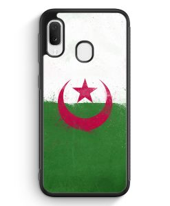Samsung Galaxy A20e Silikon Hülle - Algerien Algeria Grunge