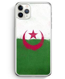 iPhone 11 Pro Max Hardcase Hülle - Algerien Algeria Grunge