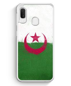 Samsung Galaxy A20e Hardcase Hülle - Algerien Algeria Grunge