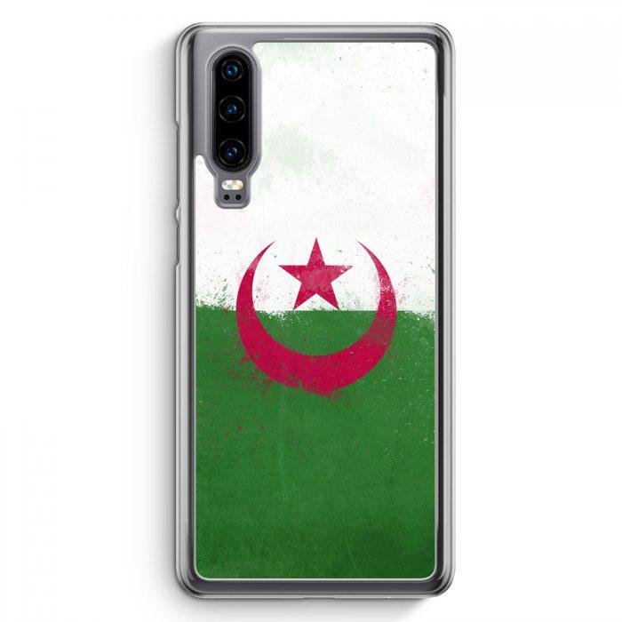 Huawei P30 Hardcase Hülle - Algerien Algeria Grunge