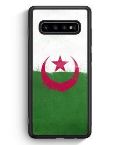 Samsung Galaxy S10 Silikon Hülle - Algerien Algeria Grunge