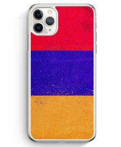 iPhone 11 Pro Hardcase Hülle - Armenien Grunge Armenia Hajastan