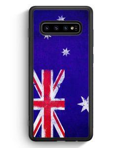Samsung Galaxy S10e Silikon Hülle - Australien Grunge Australia