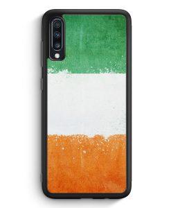 Samsung Galaxy A70 Silikon Hülle - Elfenbeinküste Grunge Ivory Coast Cote D'Ivoire