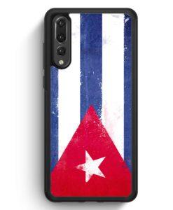 Huawei P20 Pro Hülle Silikon - Kuba Grunge Cuba