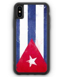 iPhone XS Max Silikon Hülle - Kuba Grunge Cuba