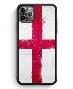 iPhone 11 Pro Max Silikon Hülle - England Grunge