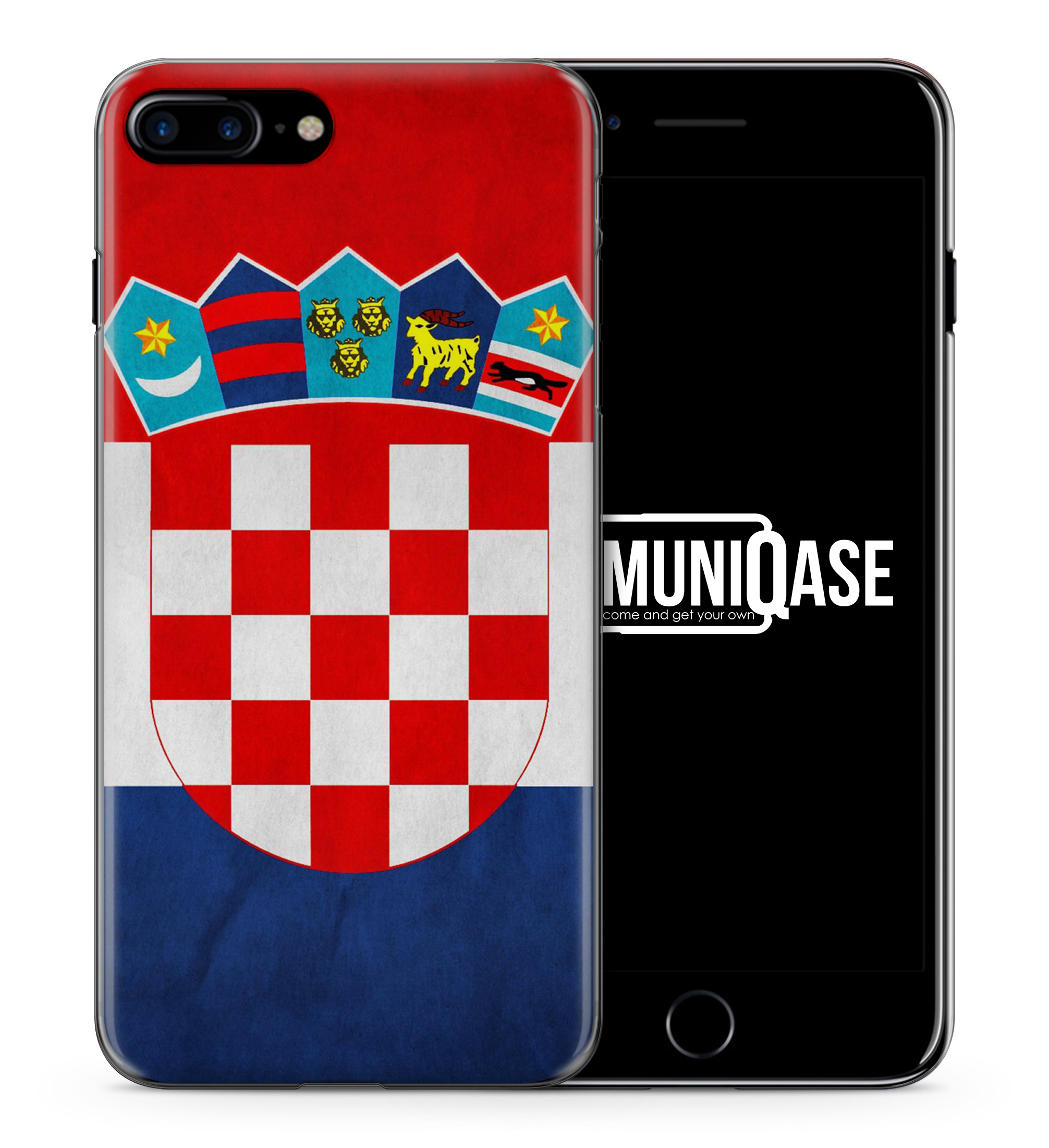 Kroatien Hrvatska - Slim Handyhülle für iPhone 7 Plus