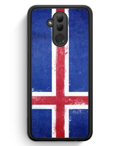Huawei Mate 20 Lite Silikon Hülle - Island Grunge Iceland