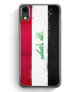 iPhone XR Hardcase Hülle - Irak Grunge Iraq