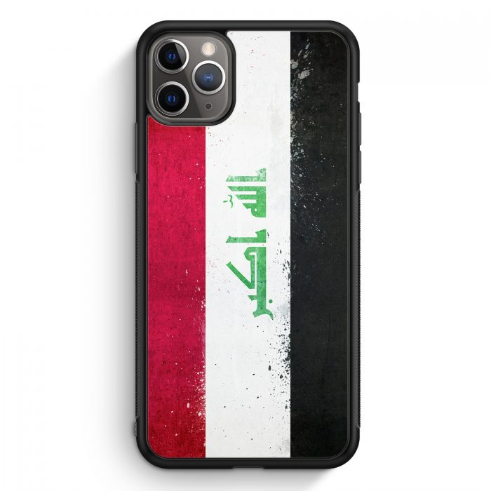 iPhone 11 Pro Max Silikon Hülle - Irak Grunge Iraq