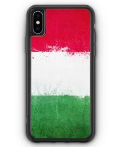 iPhone XS Max Silikon Hülle - Italien Grunge Italy Italia