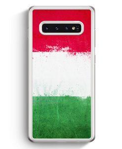 Samsung Galaxy S10+ Plus Hardcase Hülle - Italien Grunge Italy Italia
