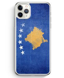 iPhone 11 Pro Hardcase Hülle - Kosovo Grunge
