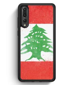 Huawei P20 Pro Hülle Silikon - Libanon Grunge Lebanon