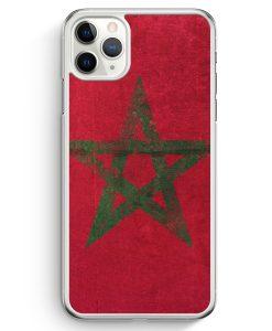 iPhone 11 Pro Max Hardcase Hülle - Marokko Grunge Morocco