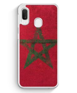 Samsung Galaxy A20e Hardcase Hülle - Marokko Grunge Morocco