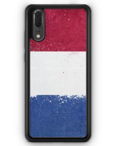Huawei P20 Hülle Silikon - Niederlande Holland Grunge Netherlands